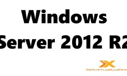 Microsoft Windows Server 2012 R2 Installation