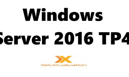 Windows Server 2016 Technical Preview 4 Installation